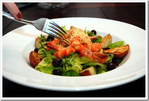 shrimp nicoise