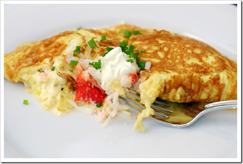 crab omlette