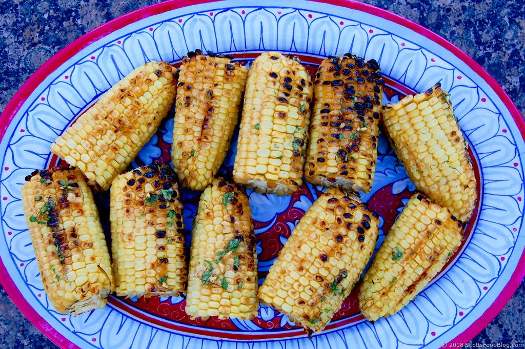 ... fool you corn was meant to be grilled this spicy yet cool corn is the