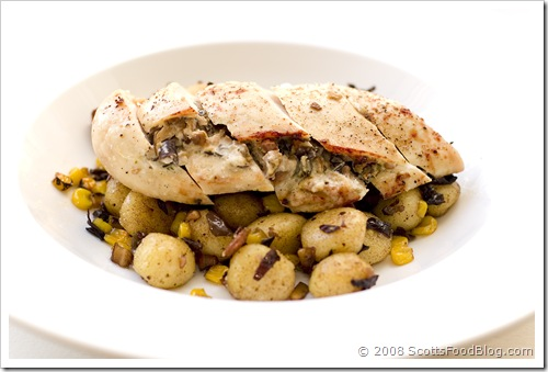 Boursin Chicken with Brown Butter Gnocchi