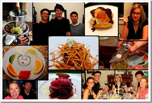 french bistro collage