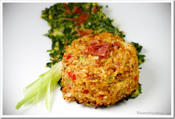 crabcake rockefeller