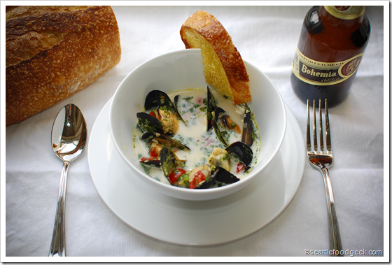 mussels bohemian