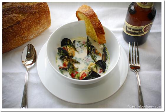 mussels bohemian