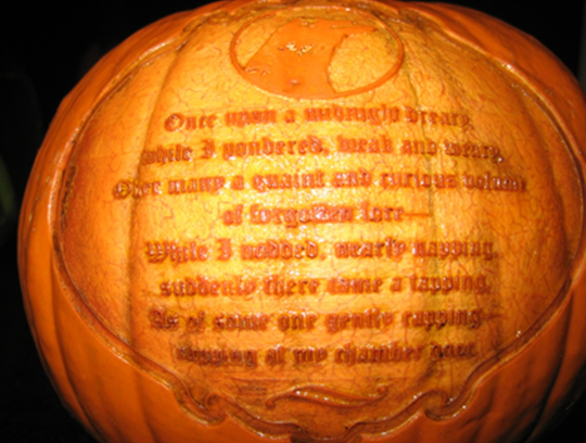 How To Carve Pumpkins With A Laser Seattle Food Geek