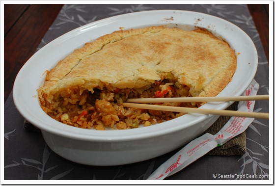General Tso's Chicken Pot Pie