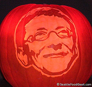 bill gates pumpkin