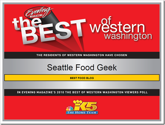 Best of Western WA Winner Certificate