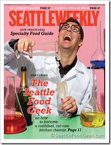 Seattle Weekly Cover Article