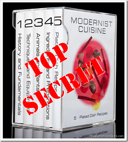 modernist cuisine secret