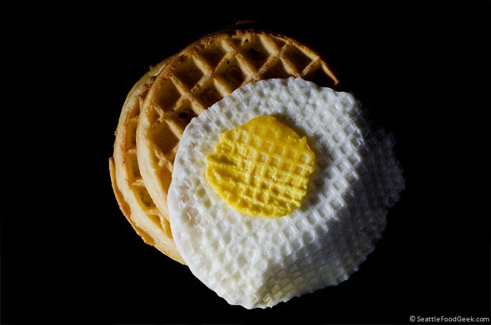 Waffled Eggs and Waffles