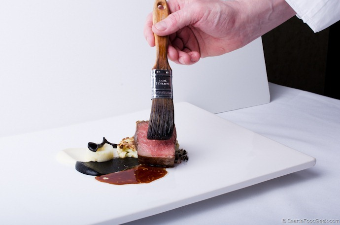 steak plating