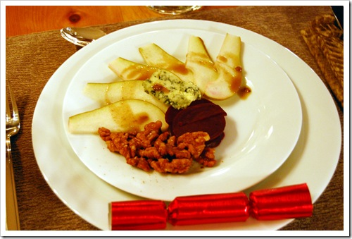 pear and beet salad