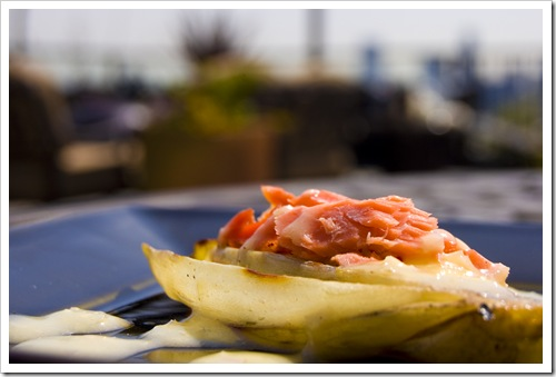 endive with salmon