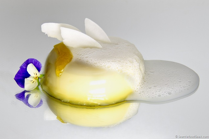 lemon panna cotta