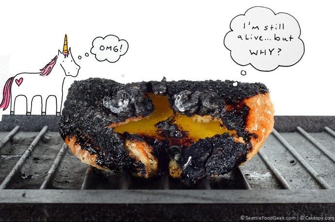 hand pie burnt
