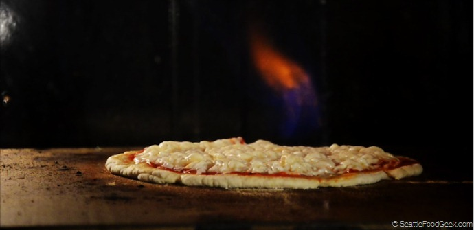 bacardi pizza flambe