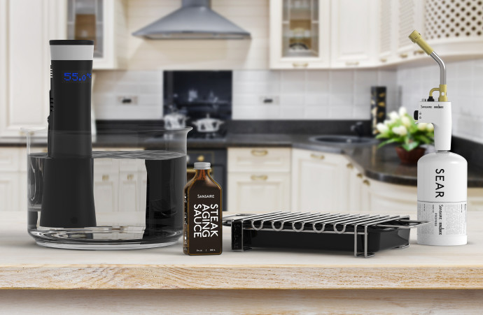 All products in stylish home kitchen