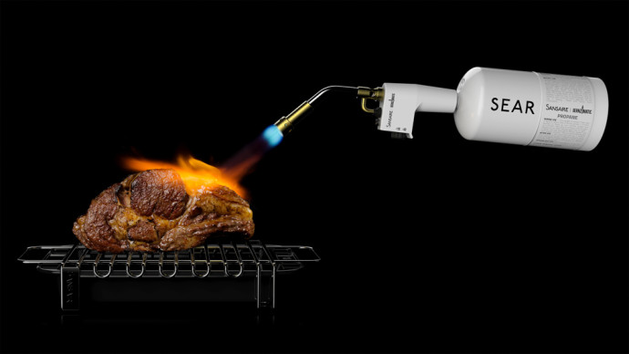 Sansaire Searing Kit Torching Roast